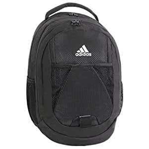 adidas Dillon Backpack, Black, 17 x 12 x 11-Inch