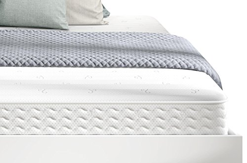 Signature Sleep Contour 8 Inch Reversible Independently Encased Coil Mattress with CertiPUR-US certified foam, (King Coil Mattress)