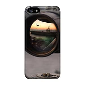 LisCFrazi Design High Quality Navy Bionaculars Cover Case With Excellent Style For Iphone 5/5s