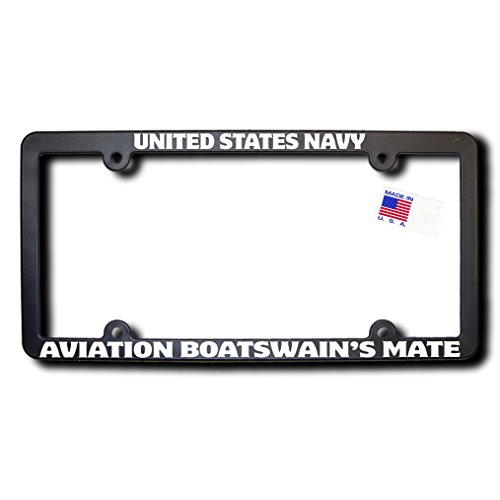 James E. Reid Design US Navy Aviation Boatswain's Mate License Frame w/Reflective Text