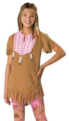 SASSY INDIAN TWEEN 8-10  sc 1 st  Amazon.com & Amazon.com: In Character Tween Native American Indian Girl Halloween ...