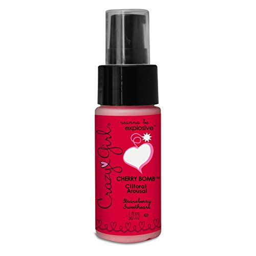 Classique Erotica Crazy Girl Cherry Bomb pompe fraises, 1 once