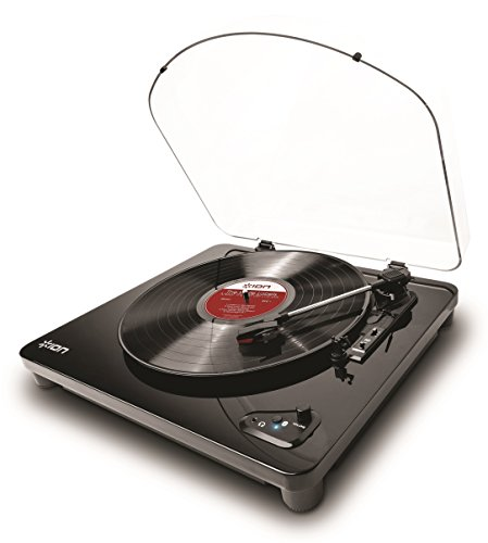 Ion Audio Air Lp   3 Speed Belt Drive Wireless Streaming Turntable With Autostop For Use With Bluetooth Enabled Speakers