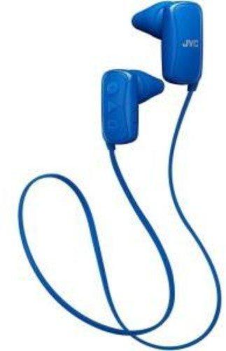 JVC HAF250BTA In-Ear Headphone, Bluetooth, Gumy - Blue