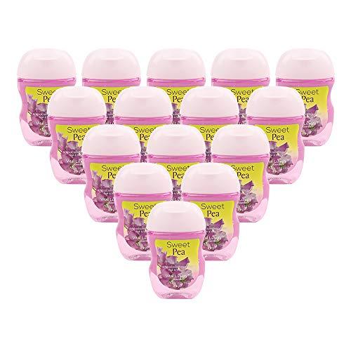 Vital Luxury Nignature - Antibacterial Hand Sanitizer-Sweet Pea,1 Fl,Oz Each(Pack of 15)