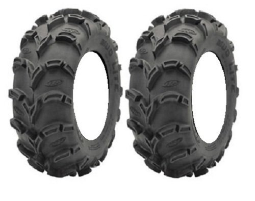 Pair Lite 6ply Tires 27x9 12