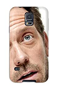 For Galaxy S5 Tpu Phone YY-ONE(men Male Celebrity Hugh Laurie)