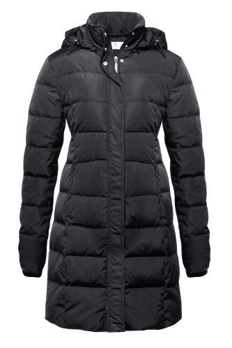 Bellybutton - Chaqueta con capucha de manga larga para mujer Negro