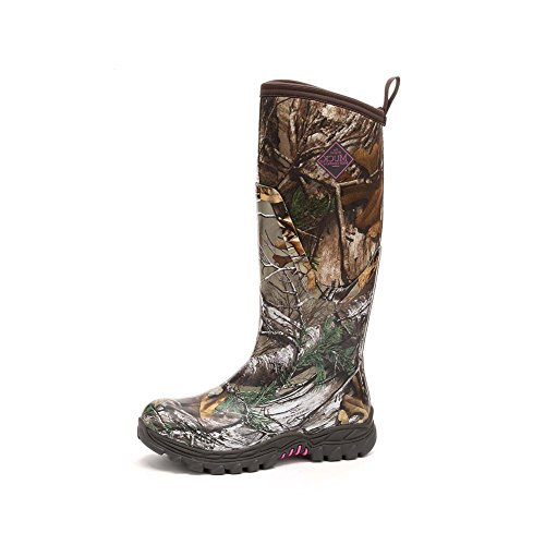 Muck Boot Women's Arctic Hunter Tall Snow Boot, Realtree Xtra Pink, 10 M US by Muck Boot