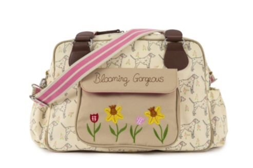 Pink Lining Blooming Gorgeous Sam the Dalmatian Cream Diaper Bag