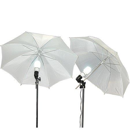 Fancierstudio Lighting Kit 3 Point Light Kit Fluorescent Lighting Kit Umbrella Kit by Fancierstudio (Image #2)