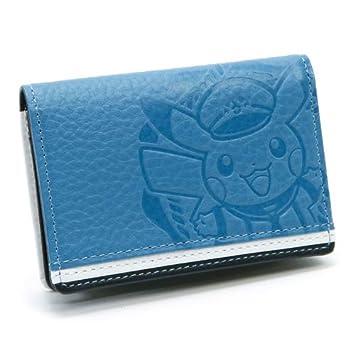 Pokémon Center - Cartera de Piel para Tarjetas de Visita, Color Azul Pikachu Yokohama edición Limitada: Amazon.es: Hogar