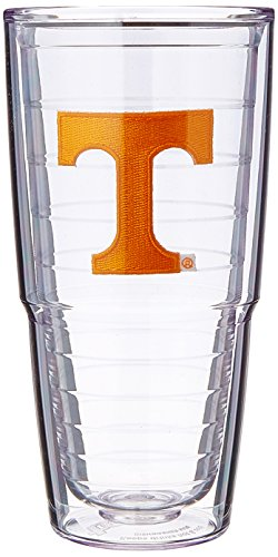 Tervis Tennessee University Emblem Tumbler (Set of 2), 24 oz, (Tennessee Volunteers Tervis Tumbler)