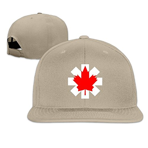 Unisex Canada Flag Adjustable Snapback Trucker Hat Natural One - Tom Canada Ford