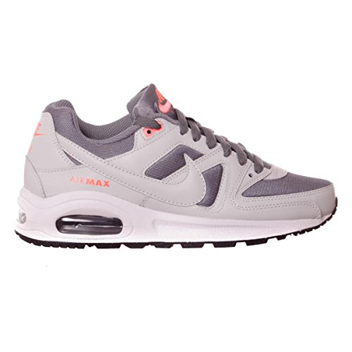 Nike Damen Air Max Command Flex (GS) Laufschuhe DARK GREY/WHITE-BLACK-PR PLTNM
