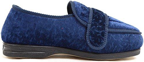 SNUGRUGS - Zapatillas de estar por casa para mujer Azul - azul marino