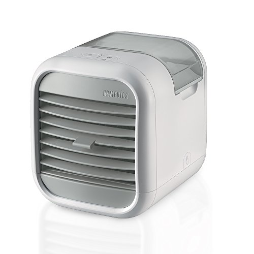 Homedics Portable Air Cooler | Clean Tank Technology, Small Cooling Unit, Quiet | Energy Saving, Environmentally Friendly, Cooling System for Dorm, Office, Bedroom, Apartment | My CHILL (Best Personal Ac Unit)
