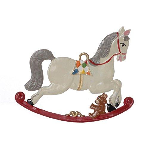 Wilhelm Schweizer Tree Decorations Made of tin, Rocking Horse ()