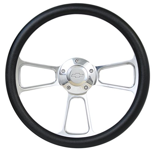 Billet Half Wrap Steering Wheel - Forever Sharp 14