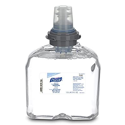 PURELL Hand Sanitizer Foam, 1,200 mL TFX Refill (Case of 2)