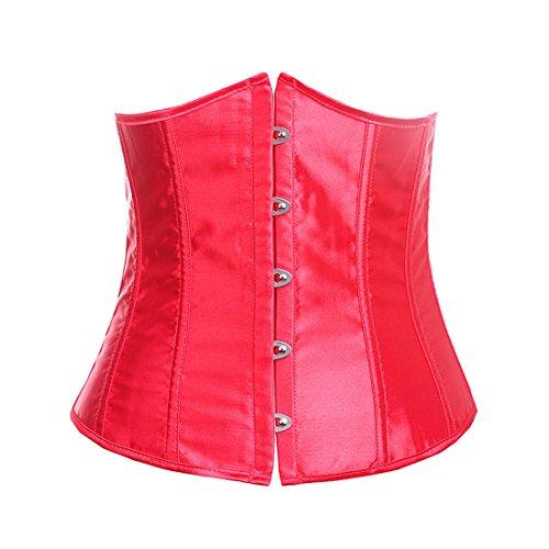 E-Girl FOB2686 Mujer Rojo Lencería y ropa interior Corsés y bustiers,L