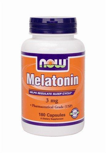 NOW Foods Melatonin Capsules