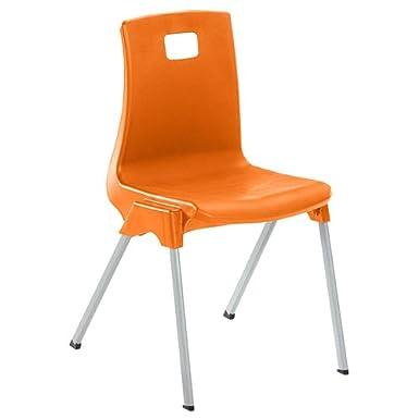 Metalliform ST4-Blue Standard Classroom Chair with 380 mm Seat Size 4 Blue