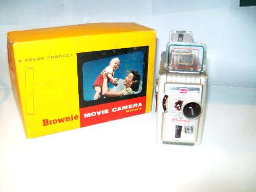Kodak Brownie 8mm Model #2 Movie Camera