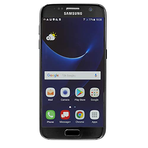 Samsung Galaxy S7 G930V 32GB, Verizon, Black Onyx, Unlocked Smartphones (Renewed) ()
