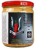 Hot-Headz Fiery Habanero Chile Con Queso Chilli Cheese Sauce 454 g