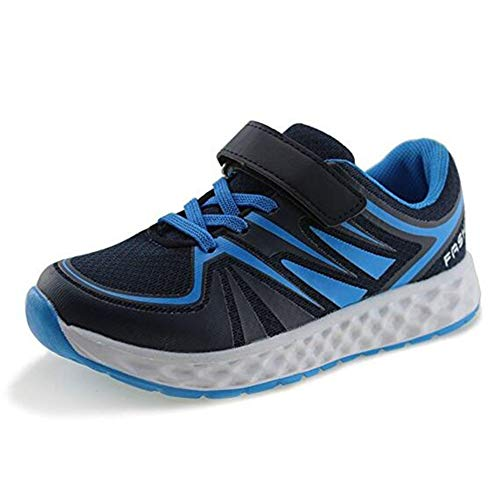 Sam Carle Kids Breathable Sneakers Casual Shoes Children Hook Loop Shoes Anti Slippery Shoes by Sam Carle