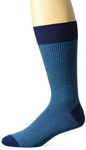 Zanella Socks Men's Z9020, Blue/Turquoise, 10-13 for sale  Delivered anywhere in USA