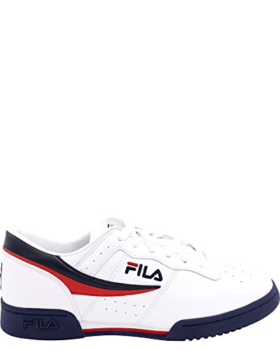 Fila Men's Original Vintage Fitness Shoe,White/Navy/Red,9 - Filas Classic