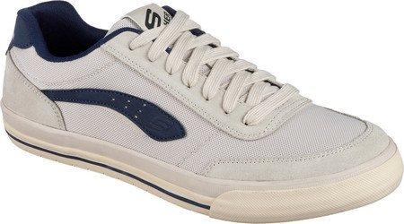 Skechers Men's Relaxed Fit Diamondback Revent Sneaker,White/Navy,US 9.5 M Diamondbacks Toy
