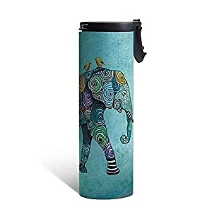 Tree-Free Greetings Vacuum Insulated Travel Coffee Tumbler
