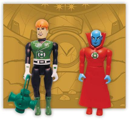 DC Comics Pocket Super Heroes, Series 2: Guardian and Guy Gardner [Toy]