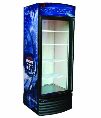 Beer Frosters, Refridgerant, 1 Glass Door with 4 Shelves, 18 Cubic Feet