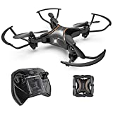 Drocon DC-65 Foldable Mini RC Drone for Kids, Portable Pocket Quadcopter with Altitude Hold Mode, 3D Flips, Headless Mode and One-key Take-off/Landing, Easy to Fly for Beginners and Makes a Great Gift Review