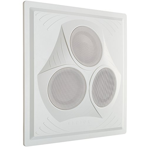 Pure Resonance Audio VCA8 Vector Ceiling Speaker Array (White) by Pure Resonance Audio