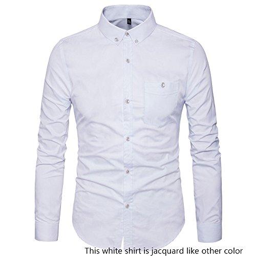Long Sleeve Fashion Dress Shirt - 9