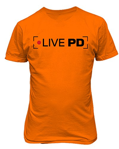RIVEBELLA New Novelty Live PD Mens T-Shirt Live Mens Tee