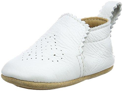 Haflinger Unisex Baby Primus Hausschuhe Weiß (Rohweiß)