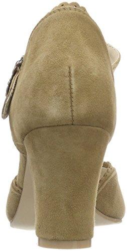 3005715 Escarpins Noir Fermé Bout Marron Femme Hirschkogel Camel 089 6w1aqdn