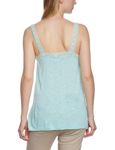 Vila - Camiseta sin mangas para mujer Verde (Brook Green)