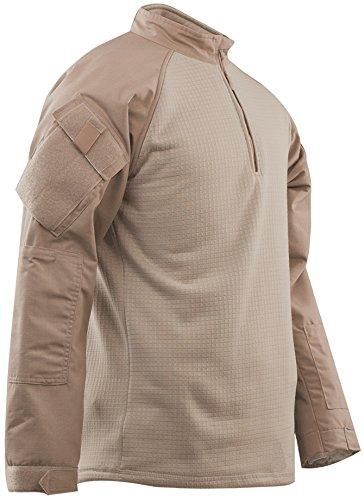 TRU-SPEC Men's Tru 1/4 Zip Winter Combat Shirt, 3X-Large,...