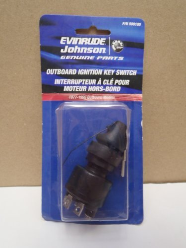 OEM Evinrude Johnson BRP Ignition Switch 77 Series (1977-1995) - 508180 ()