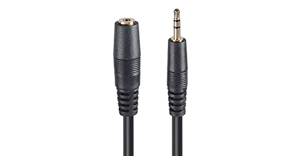 2.5mm Extension Cable 6FT Male to Female Stereo Audio Sub Mini Jack Cord Plug