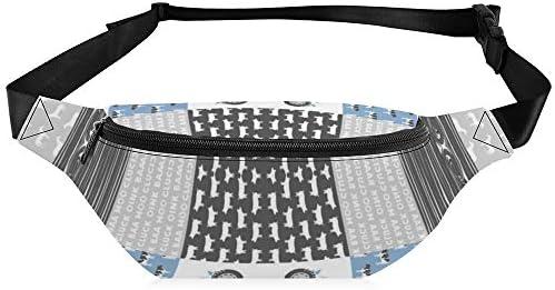 ファームライフホールクロスブルーとグレー(90) ウエストバッグ ショルダーバッグチェストバッグ ヒップバッグ 多機能 防水 軽量 スポーツアウトドアクロスボディバッグユニセックスピクニック小旅行