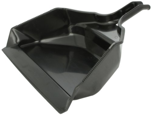 Rubbermaid Commercial 16 in Extra Large Heavy Duty Dustpan, Black, (FG9B5900BLA)