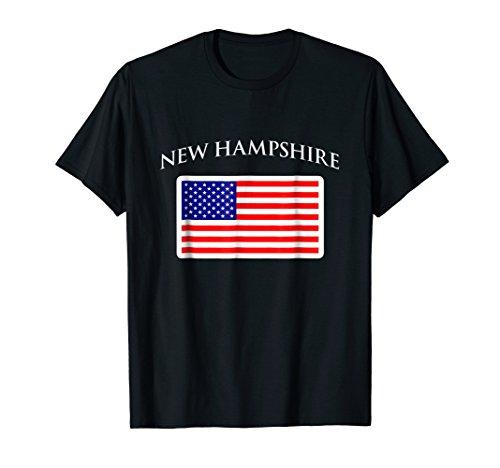 New Hampshire US Flag New Hampshire Vintage Gift T-Shirt